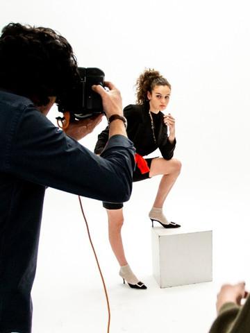 shooting con modelo