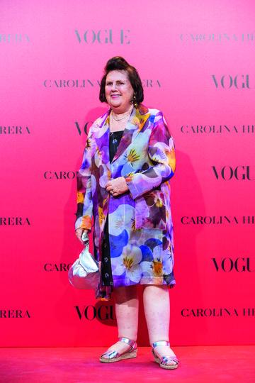 Suzy Menkes en la fiesta #Vogue30.